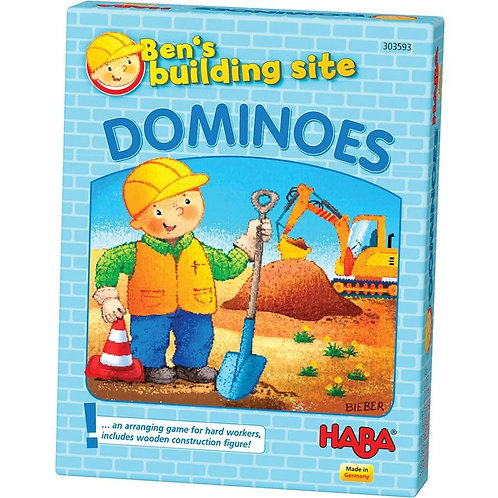 PREORDER - Bens Building Site Dominoes