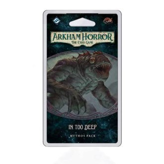 PREORDER -Arkham Horror LCG - In Too Deep Expansion