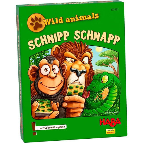 PREORDER - Wild Animal Schnipp Schnapp