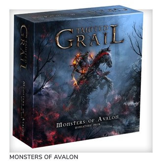 PREORDER - Tainted Grail - Monsters of Avalon Expansion