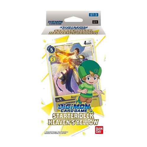 PREORDER - Digimon Card Game Series 01 Starter Display 03 Heavens Yellow