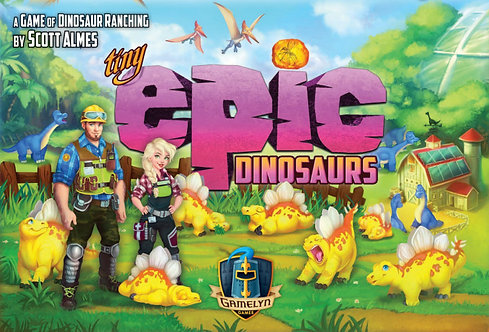 PREORDER - Tiny Epic Dinosaurs