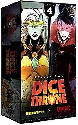 Dice Throne Season 2 Battle Box 4 Vampire Lord vs Seraph