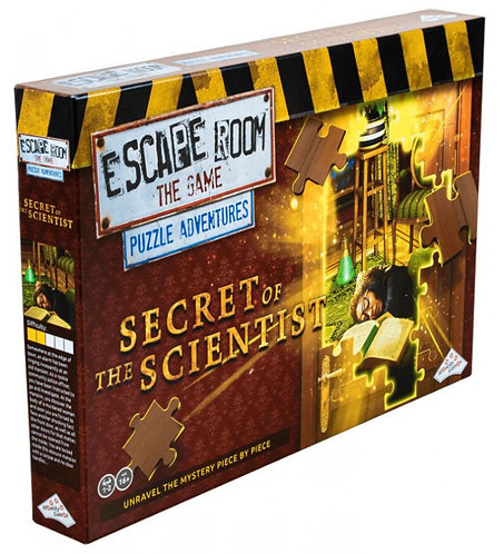 PREORDER - Escape Room The Game Puzzle Adventures - Secret of the Scientist