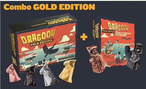 Dragoon Gold Kickstarter Edition + Rogue and Barbarian Expansion