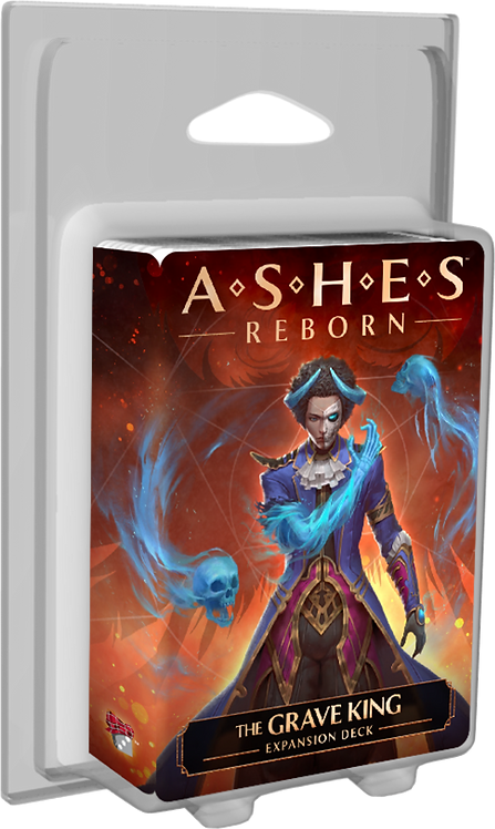 PREORDER - Ashes Reborn The Grave King Expansion Deck