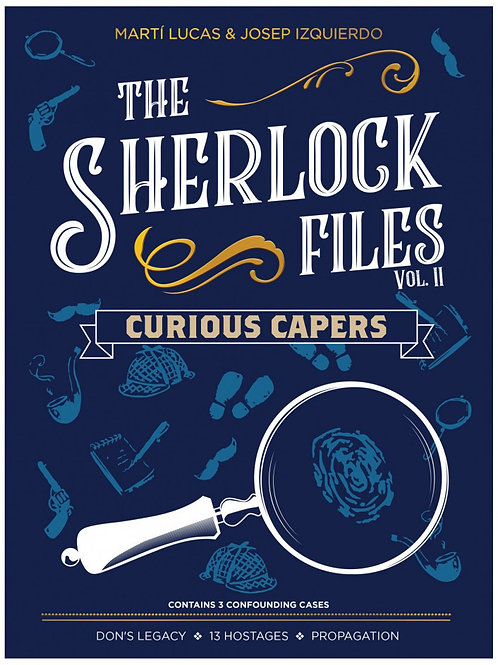 PREORDER - Sherlock Files Vol. 2 - Curious Capers