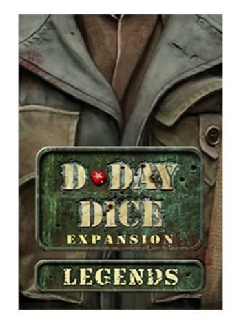 PREORDER - D-Day Dice Legends Expansion