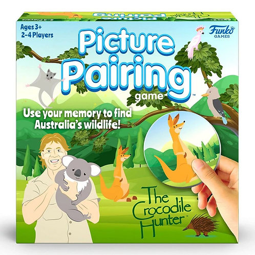 PREORDER - Crocodile Hunter - Picture Pairing Game