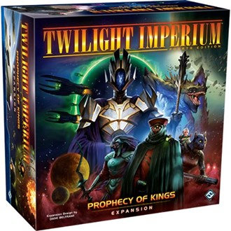 PREORDER - Twilight Imperium 4th Edition - Prophecy of Kings Expansion