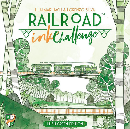PREORDER - Railroad Ink Challenge Lush Green