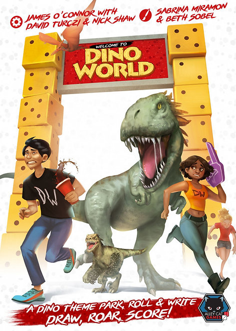 PREORDER - Welcome to Dinoworld