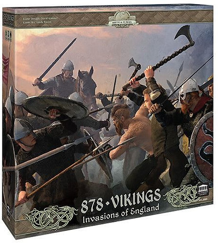 PREORDER - 878 Vikings Invasions of England 2nd Edition