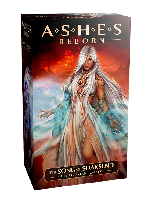 PREORDER - Ashes Reborn The Song of Soaksend Deluxe Expansion Deck