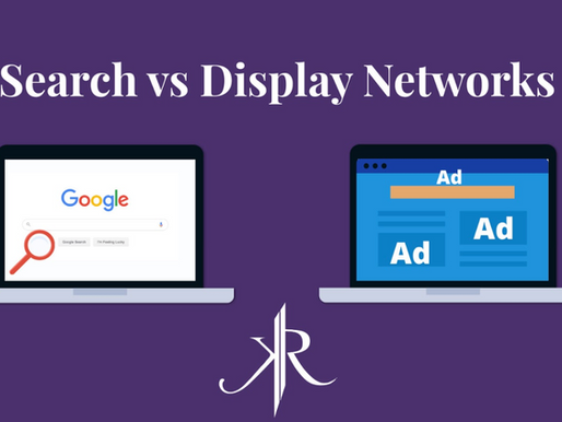 Search Network vs Display Network in Google Ads
