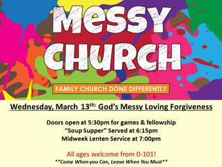 Messy Forgiveness!