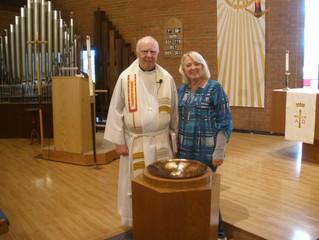A visit from Pastor Trendel