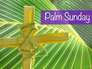 Palm Sunday Worship & Holy Week Schedule