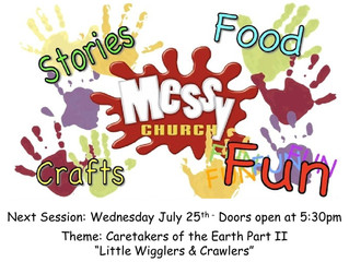 Messy Church for July 2018
