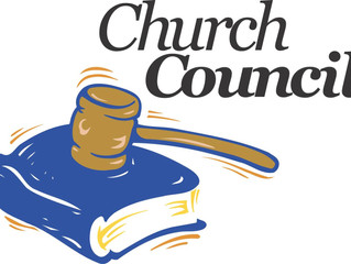 Church Council Update for May 2019
