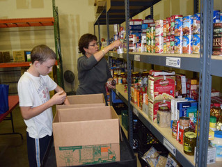 Volunteer at Open Arms Food Pantry