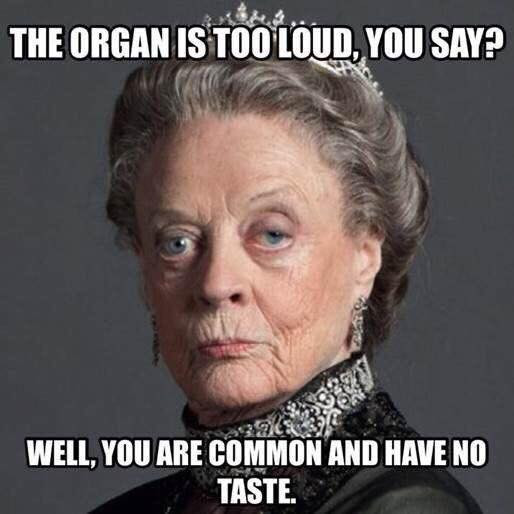 Organ Appreciation Meme