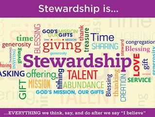 Stewardship Is...