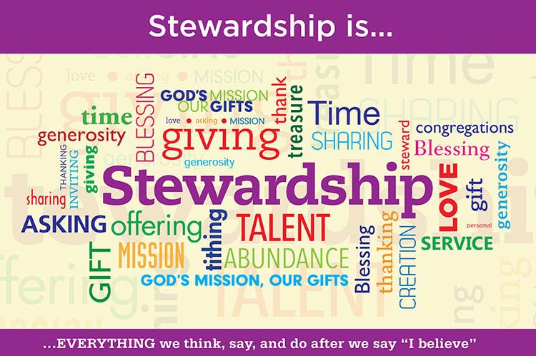 Stewardship Is (Word Cloud)