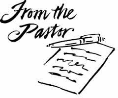 From the Pastor: January 2018