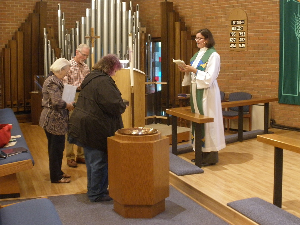 Blessing of Homebound Communion Ministry Kits