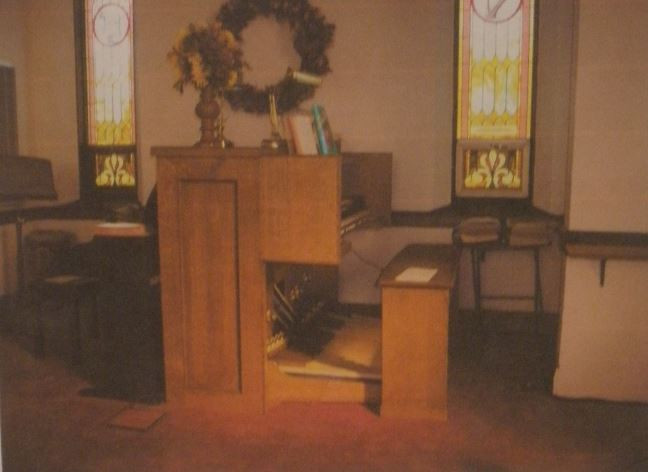 Pipe Organ at United Methodist Church of Antioch