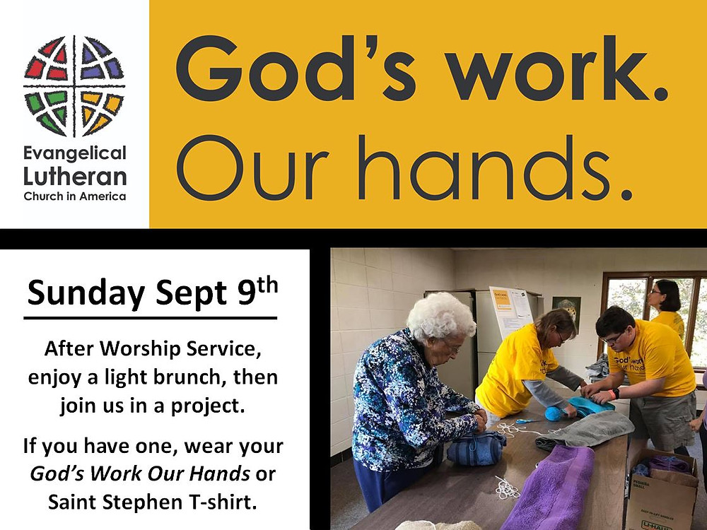 God's Work Our Hands Promo