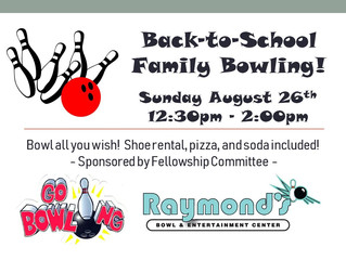 Back-to-School Family Bowling