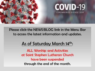 Coronavirus Impact: Mar 14, 2020