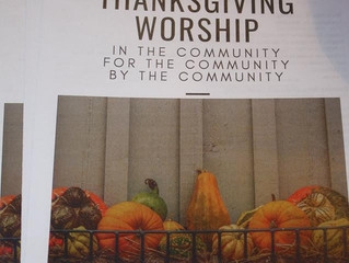 Community Thanksgiving Service - Recap