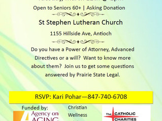 Seniors' Seminar: Legal Aspects of Aging