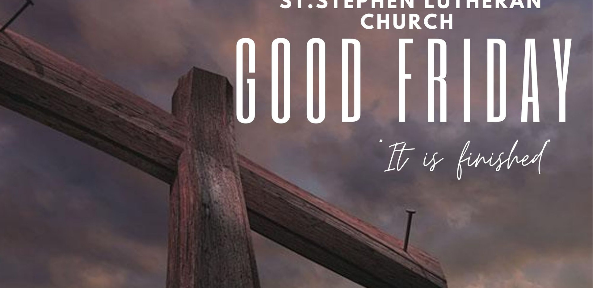 Good Friday on April 2nd