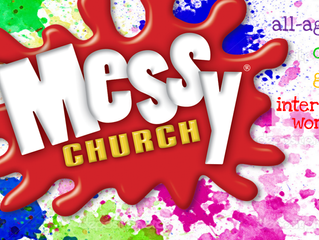 Messy Church, the Lent Edition