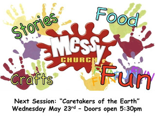 "May Session of ""Messy Church"""
