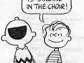 Make a Joyful Noise! (Time for Choir Practice...)