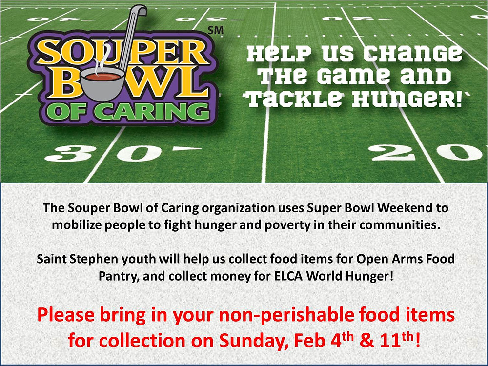 Logo for Souper Bowl of Caring