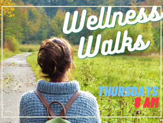 Wellness Walks for August