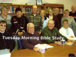 #TBT 2009 Bible Study