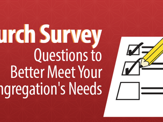 It's time! Congregational Assessment Tool (C.A.T.) Survey