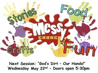 "Messy Church: ""God's Dirt - Our Hands!"""