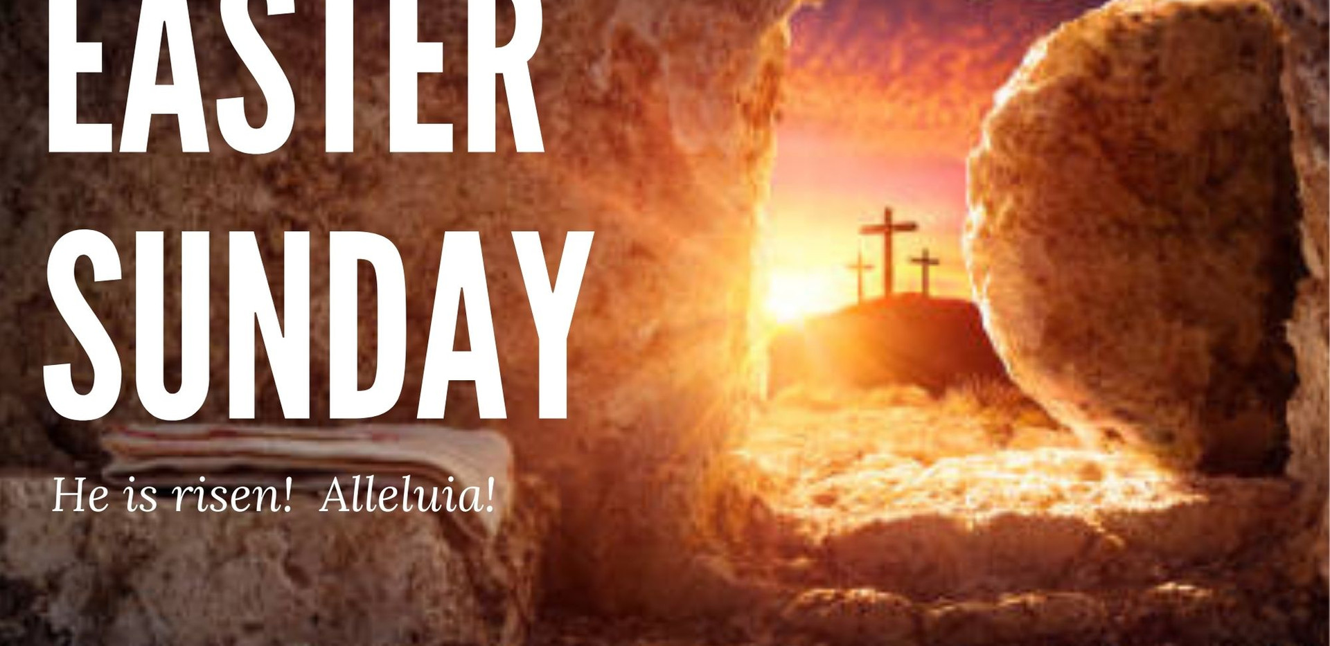 Easter Sunday on April 4th