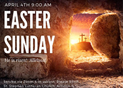 Easter Sunday Worship Times