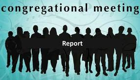 A Report on our July 2018 Congregational Meeting