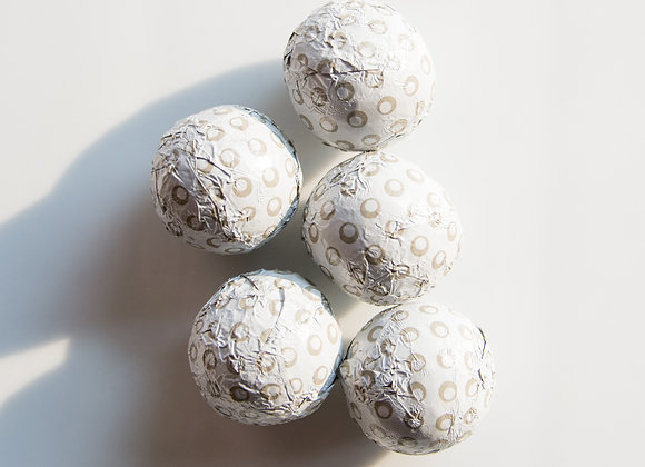Foiled Chocolate Golf Balls