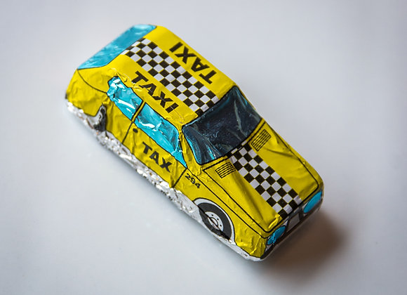 Foiled Chocolate Cars - Small